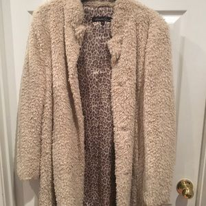 New without tags!!! Kenneth Cole Faux Fur Coat ,,,